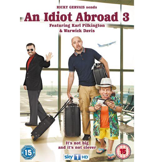 An Idiot Abroad: The Long Way Round (DVD Boxset)