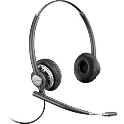 Plantronics Encorepro HW 720D Binaural Head-band Black Silver headset