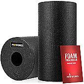 ProWorks Black Foam Yoga Roller