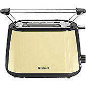 Hotpoint MyLine 2 Slice Toaster - Cream
