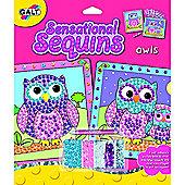 Galt Sensational Sequins - Owls