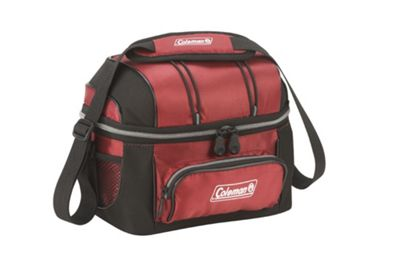 Coleman Soft 6 Can Red Cooler