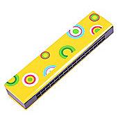 Bigjigs Toys Snazzy Harmonica (Yellow)