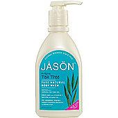 JASON NATURAL Tea Tree Satin Body Wash Pump Shower Gel
