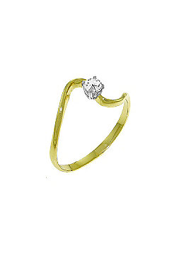 QP Jewellers 0.15ct I-3 Diamond Ring in 14K Gold