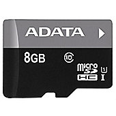 ADATA Premier microSDHC UHS-I U1 Class10 8GB Class 10 memory card