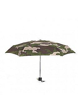 Kikkerland Compact Camo Umbrella