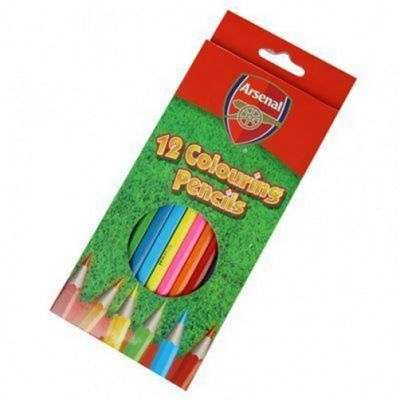 Arsenal FC 12 Pack Colouring Pencils