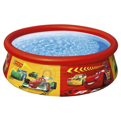 Buy cars easy set up 6ft pool from our toys for 5 8 years range tesco cars easy set up 6ft pool publicscrutiny Image collections