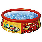 Cars 6ft Easy Set Pool