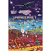 Minecraft World Beyond Poster 61x91.5cm