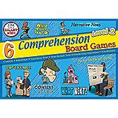 Smart Kids 6 Comprehension Board Games Level 2