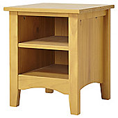 Harvey Bedside Table, Pine