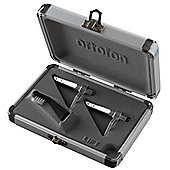 Ortofon Concorde Pro Silver Cart And Styli - Twin Pack