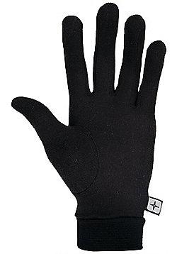 Mountain Warehouse Silk Gloves - Black