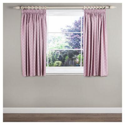 Dotty Blackout Curtains W117xL183cm (46x72