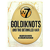 W7 Goldiknots Detangling Hair Brush Detangled Hairdressing Golden Egg Salon Tool