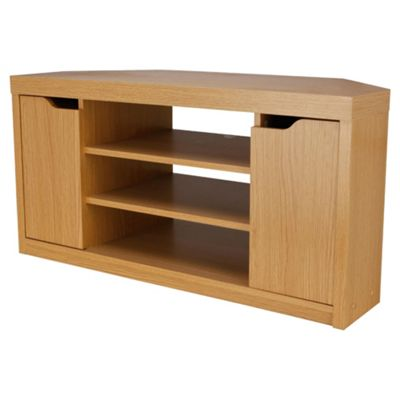 Seattle Corner TV Unit, Oak Effect