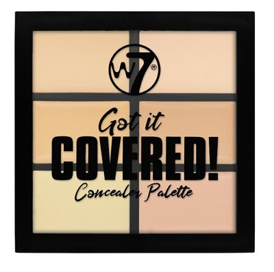 W7 Got It Covered Concealer Palette 6 Shades