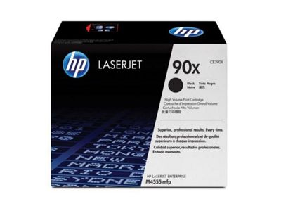 HP 90X (CE390X) High Yield Black Original LaserJet Toner Cartridge CE390X