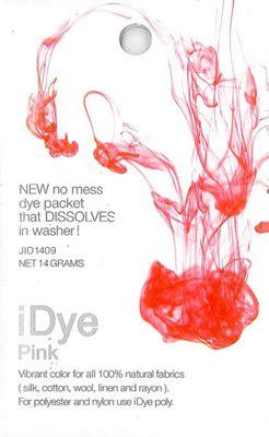 Jacquard iDye Fabric Dye - Pink