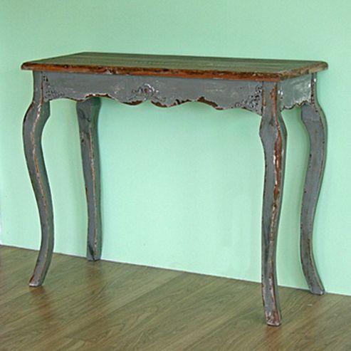 Originals Distressed Stone Console Table