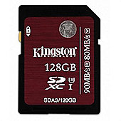 Kingston Technology SDXC UHS-I U3 (SDA3) 128GB UHS Class 3 memory