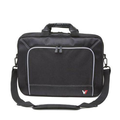 V7 Professional Frontloader 16 inch Laptop Case (Black)