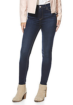 F&F Contour High Rise Super Skinny Jeans with LYCRA® BEAUTY - Indigo