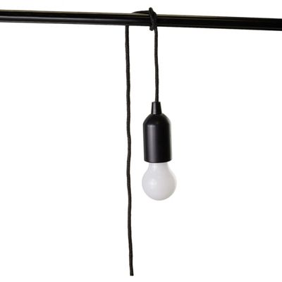JML Bulb Buddy Portable Hang Anywhere Tie-Up Led Rope Light Lamp