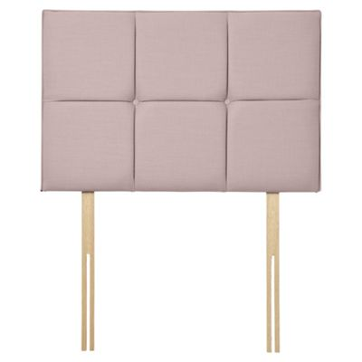 Seetall Fencott Faux Linen Single Headboard, Lavender