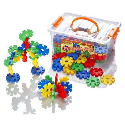 Learning Minds Constructa Cogs Tub - 100 Pieces