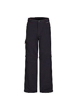 Regatta Kids Sorcer Zip Off Trousers - Grey