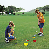 Kids Golf 2 in 1 Pitch and Putt Practice Set