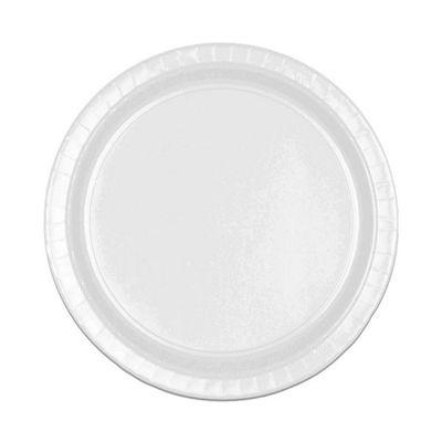 White Dessert Plates - 17cm Paper - 8 Pack