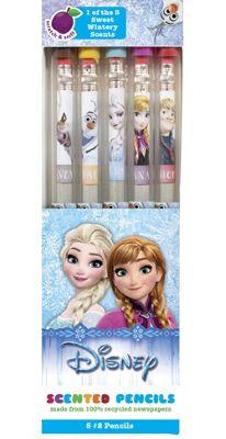 Disney Frozen Graphite Smencils (5 Pack)