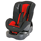 Baby Elegance Group 0+1 Car Seat, Black/Red