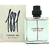 Cerruti 1881 Sport Eau de Toilette (EDT) 100ml Spray For Men