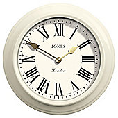 Jones The Film Matte White Wall Clock
