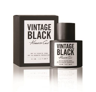 Kenneth Cole Vintage Black for Men Eau De Toilette 100ml
