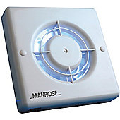Manrose 100mm Axial Extractor Fan with Timer & Pullcord