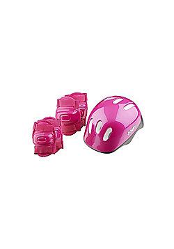 Riderz Girls Helmet & Pad set Pink