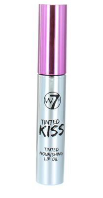 W7 Tinted Kiss Tinted Nourishing Lip Oil 10ml-In The Pink
