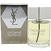 Yves Saint Laurent L'Homme Eau de Toilette (EDT) 100ml Spray For Men