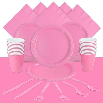 Baby Pink Party Pack for 20