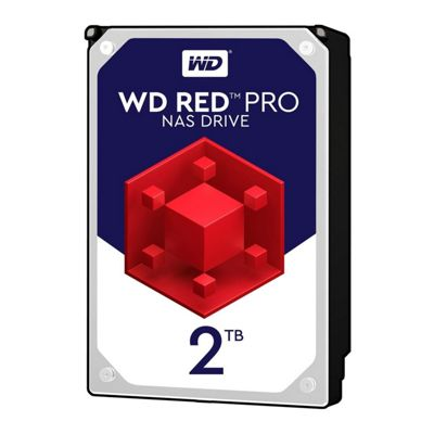 Western Digital 2TB Red Pro 3.5 SATA3 Enterprise NAS HDD