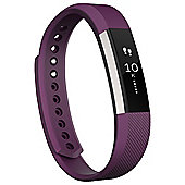 Fitbit Alta Fitness Tracker - Plum, Large