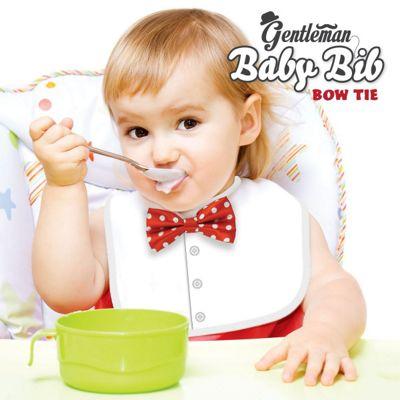 Gentleman Baby Bib - Bow Tie