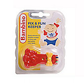 Bambino Fix and Fun Keeper in Red