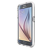 Tech21 Evo Check for Galaxy S6 - Clear/White